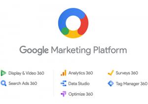 Google Marketing Platform Display and Video 360 Search Ads 360 Analytics 360 Data Studio Optimize 360 Surveys 360 Tag Manager 360