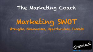 The Marketing Coach Marketing SWOT Strengths, Weaknesses, Opportunities, Threats Genius! Geniusmarketing.com
